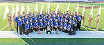 LAHS Marching Band and Color Guard Group Photo 2015