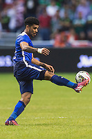 United States' defender DeAndre Yedlin (2) during an international friendly at the Alamodome, Wednesday, April 15, 2015 in San Antonio, Tex. USA defeated Mexico 2-0. (Mo Khursheed/TFV Media via AP Images)