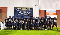 Bentonville Tigers taking the field against Fayetteville at Tigers Stadium, Bentonville, Arkansas on Friday, October 16, 2020 / Special to NWA Democrat-Gazette/ David Beach