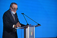 ROME, ITALY - FEBRUARY 22:  Mauro Balata President of Lega Serie B attends  the FIGC Elective Assembly at Cavalieri Waldorf Astoria Hotel on February 21, 2021 in Rome, Italy.  <br /> Photo Marco Rosi / FIGC / Insidefoto