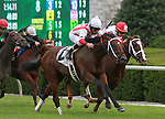 09 October 2011.  Animal Spirits and Robby Albarado win the 21st running of the Bourbon, GRIII $150,000 at Keeneland Racecourse for owner John A. Elder and trainer Albert Stall Jr.