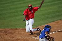 Vladimir Guerrero. Baseball: Kansas City Royals vs Los Angeles Angels of Anaheim. Tempe, AZ 3/17/2005 MANDATORY CREDIT: Brad Mangin/Sports Illustrated