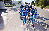 Antoine Demoitié (BEL/Wanty-Groupe Gobert) & Enrico Gasparotto (ITA/Wanty-Groupe Gobert)<br /> <br /> Pro Cycling Team Wanty-Groupe Gobert <br /> <br /> Pre-season Training Camp january 2016
