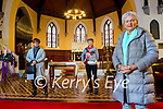 St John's Church, Ashe Street, Tralee are holding a go-fund-me page instead of their annual sale for the running of the church and the upkeep of all the buildings and pictured are Susie Keating(Church Warden), Linda Woods and Mona Butler (organiser).
