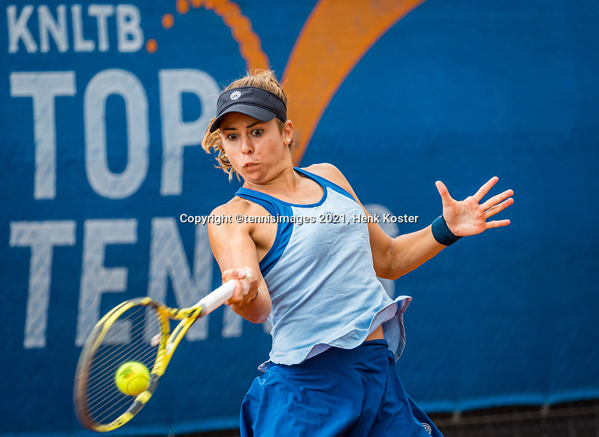 Amstelveen, Netherlands, 7 Juli, 2021, National Tennis Center, NTC, Amstelveen Womans Open, Julia Grabher (AUT)<br /> Photo: Henk Koster/tennisimages.com
