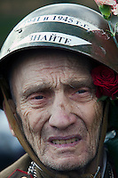 Moscow, Russia, 09/05/2011..Russian World War Two veterans and well-wishers gather in Gorky Park during the country's annual Victory Day celebrations.