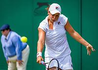 London, England, 5 th. July, 2018, Tennis,  Wimbledon, Asleigh Barty (AUS)<br /> Photo: Henk Koster/tennisimages.com