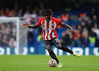 2nd October 2021; Stamford Bridge, Chelsea, London, England; Premier League football Chelsea versus Southampton; Mohammed Salisu of Southampton