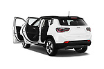 Car images close up view of a 2018 Jeep Compass Limited 4WD 5 Door SUV doors