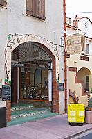 Wine shop. Cave Saint jacques. Banyuls sur Mer, Roussillon, France
