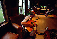 Arthur Hancock loves and plays bluegrass music.  Hancock and his wife Staci own Stone Farm in Paris, Kentucky, which bred Kentucky Derby winners Gato Del Sol, Sunday Silence and Fusaichi Pegasus. Both are on the frontline of the equine welfare/anti slaughter movements and highly involved in the new Kentucky Equine Humane Center (KEHC) which is getting ready to open its doors to a waiting list of horses who are in immediate need of shelter.