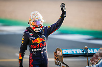 16th July 2021; Silverstone Circuit, Silverstone, Northamptonshire, England; Formula One British Grand Prix, and Qualifying;  VERSTAPPEN Max (ned), Red Bull Racing Honda RB16B happy to take 2nd on pole