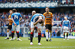 Andy Halliday misses from the penalty spot