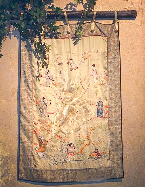 Tapestry, Ben Pao Restaurant, Chicago, Illinois