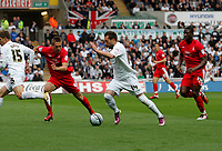 Swansea City FC (white) V Nottingham Forest (red) Championship play off semi final, second leg. Liberty Stadium Swansea 16/05/11<br /> Picture by: Ben Wyeth  / Athena Picture Agency<br /> info@athena-pictures.com