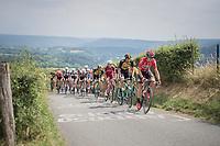 Kris Boeckmans (BEL/Lotto-Soudal) up La Redoute<br /> <br /> Ster ZLM Tour (2.1)<br /> Stage 4: Hotel Verviers > La Gileppe (Jalhay)(190km)