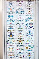 Ft. Lauderdale, Florida.  Display Illustrating Tattoo Designs Available.