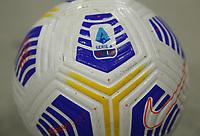 Milano 14-03-2021<br /> Stadio Giuseppe Meazza<br /> Serie A  Tim 2020/21<br /> Milan - Napoli<br /> Nella foto:  il pallone nuovo                                    <br /> Antonio Saia