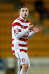 St Johnstone v Hamilton Accies....02.02.11  .Hamilton new signing Jon Routledge.Picture by Graeme Hart..Copyright Perthshire Picture Agency.Tel: 01738 623350  Mobile: 07990 594431