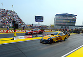 NHRA Mello Yello Drag Racing Series<br /> Chevrolet Performance U.S. Nationals<br /> Lucas Oil Raceway, Indianapolis, IN USA<br /> Monday 4 September 2017, J.R. Todd, DHL, Funny Car, Cruz Pedregon, Snap-On Tools, Funny Car, ©2017 World Copyright: Will Lester Photography