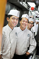 """Asien, Thailand: Kuechenteam, Eastern & Oriental Express, Zugreise """"EPIC THAILAND"""". 2013 Engl.: Asia, Thailand, Isan, Eastern and Oriental Express, Kitchen Team, luxury, travel, Train"""