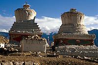 Stupa in Leh, Ladakh (Jammu+Kashmir), Indien