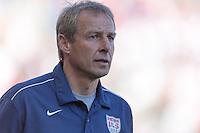 Carson, CA - Sunday, February 8, 2015 Head coach Jurgen Klinsmann of the USMNT. The USMNT defeated Panama 2-0 during an international friendly at the StubHub Center