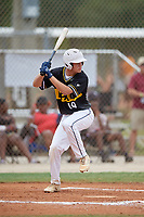 Alberto Rios (19) during the WWBA World Championship at the Roger Dean Complex on October 12, 2019 in Jupiter, Florida.  Alberto Rios attends St. John Bosco High School in Bellflower, CA and is committed to Stanford.  (Mike Janes/Four Seam Images)