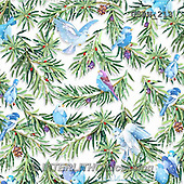 Randy, GIFT WRAPS, GESCHENKPAPIER, PAPEL DE REGALO, paintings+++++Wintering-Birds-Pattern-on-White,USRW213,#GP# Christmas napkins