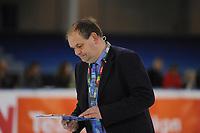 SHORTTRACK: 07-01-2018, Olympisch scheidsrechter, Gialt Biesma (NED), ©foto Martin de Jong