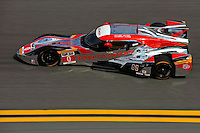 The DeltaWing races in the Rolex 24 at Daytona.