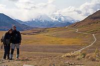 Christiane und Stephan Kappes im Denali National Park