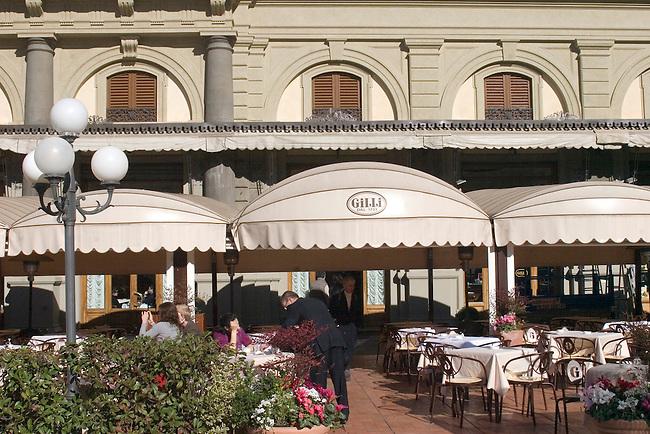 Exterior, Gilli Restaurant, Florence, Tuscany, Italy