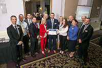 The team from Derby Train Station, runners-up of the East Midlands Trains Best Large Station