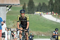 Luka Mezgec (SLO/Mitchelton Scott) at the gravel section atop the Montée du plateau des Glières (HC/1390m)<br /> <br /> Stage 18 from Méribel to La Roche-sur-Foron (175km)<br /> <br /> 107th Tour de France 2020 (2.UWT)<br /> (the 'postponed edition' held in september)<br /> <br /> ©kramon