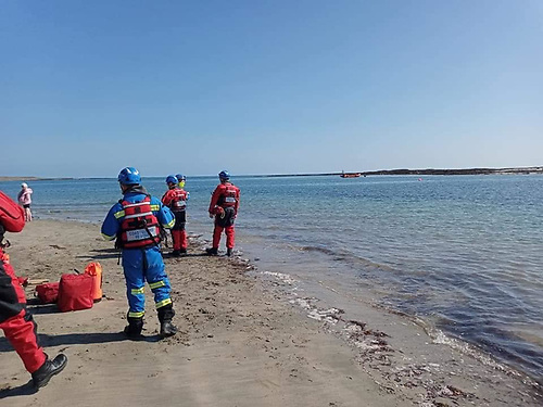 Seven Taken to Safety From Guns Island by Portaferry RNLI & Coastguard Teams