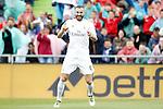 Real Madrid's Karim Benzema celebrates goal during La Liga match. April 16,2016. (ALTERPHOTOS/Acero)