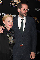BEVERLY HILLS, CA - FEBRUARY 27: Patricia Arquette at the 3rd Annual Noble Awards at the  Beverly Hilton Hotel in Beverly Hills, California on February 27, 2015. Credit: David Edwards/DailyCeleb/MediaPunch