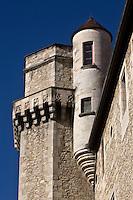 Europe/France/Aquitaine/24/Dordogne/Périgueux: Hôtel de Sallegourde : tour et sa tourelle -  8, rue Aubergerie.