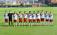 players of Luxemburg pictured during a soccer game between the national teams Under17 Youth teams of  Norway and Luxemburg on day 2 in the Qualifying round in group 3 on saturday 9 th of October 2020  in Tubize , Belgium . PHOTO SPORTPIX   DAVID CATRY