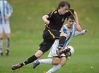 120606 Wellington Schools Football - St Pat's Silverstream v Wellington College