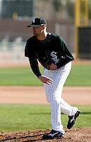 John Van Benschoten -  Chicago White Sox - 2009 spring training.Photo by:  Bill Mitchell/Four Seam Images