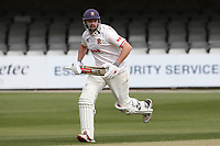 Nick Browne adds to the Essex total during Essex CCC vs Worcestershire CCC, LV Insurance County Championship Group 1 Cricket at The Cloudfm County Ground on 8th April 2021