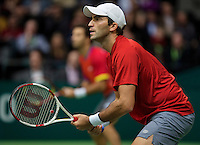 Rotterdam, The Netherlands. 16.02.2014. Horia Tecau(ROE) at the ABN AMRO World tennis Tournament<br /> Photo:Tennisimages/Henk Koster