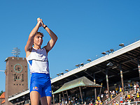 4th July 2021; Stockholm Olympic Stadium, Stockholm, Sweden; Diamond League Grand Prix Athletics, Bauhaus Gala; No world record for Mondo Duplantis in front of of a home crowd
