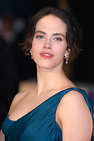 "Jessica Brown Findlay<br /> arriving for the world premiere of ""The Guernsey Literary and Potato Peel Pie Society"" at the Curzon Mayfair, London<br /> <br /> ©Ash Knotek  D3394  09/04/2018"