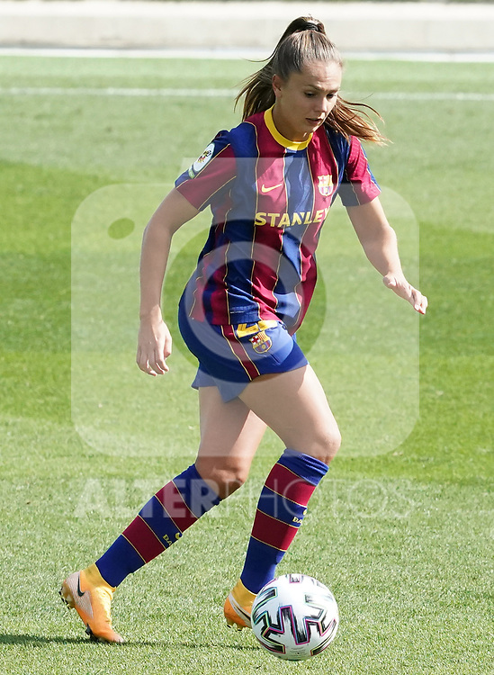 First official match and first classic in the history of women's Real Madrid.<br /> FC Barcelona's Lieke Martens during Spanish Female League match. October 4,2020. (ALTERPHOTOS/Acero)