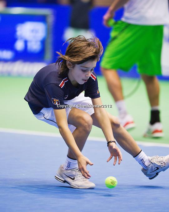11-12-12, Rotterdam, Tennis, Masters 2012, Ballboy