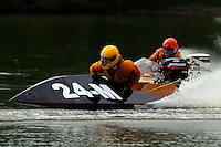 Bryan Lauer (24-M) and 80-S  (runabout)