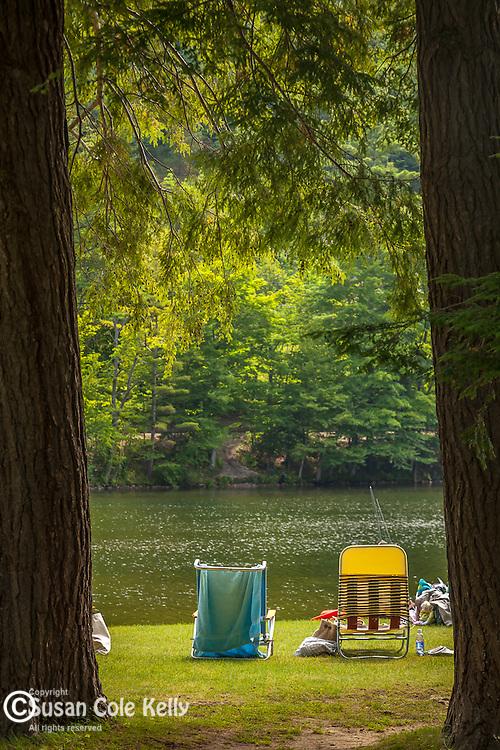 Emerald Lake State Park in Dorset, VT